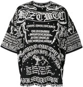 Kokon To Zai Poet long printed T-shirt - unisex - Cotton - S