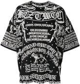 Kokon To Zai Poet long printed T-shirt