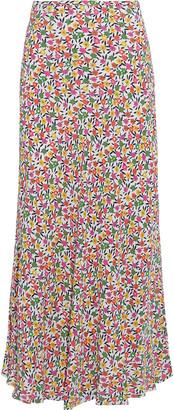 Rixo Kelly Floral-print Crepe Maxi Skirt