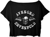 ASA Women's Crop Top Avenged Sevenfold T-shirt American Rock Music