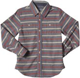 E-Land Kids Stripe Shirt (Toddler/Kid) - Shadow-7