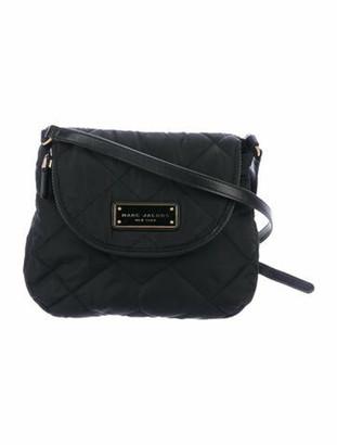Marc Jacobs Mini Messenger Nylon Crossbody Bag Black