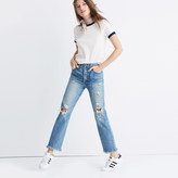 Madewell Rivet & Thread Retro Straight Jeans