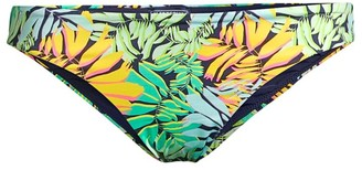 Vilebrequin Frise Tropical Leaf-Print Bikini Bottom