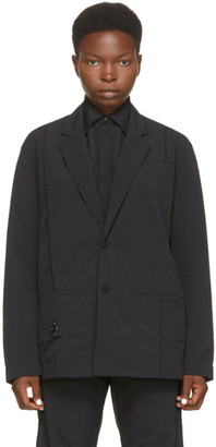 A-Cold-Wall* Black Rhombus Badge Blazer