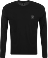 Belstaff New Trenham Long Sleeve T Shirt Black