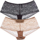 B.Tempt'd B Tempt'd Set Of 2 Boyshort