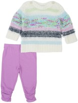 Splendid Baby Girl Mixed Yarn Sweater Set