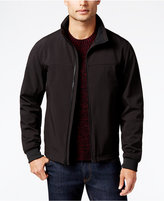 Perry Ellis Big and Tall Soft-Shell Zip-Front Jacket