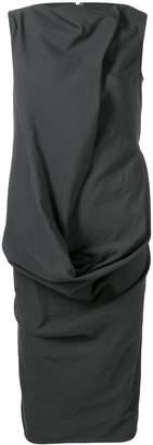 Rick Owens deconstructed shift dress