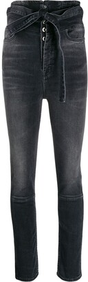 Unravel Project High-Waist Skinny Jeans