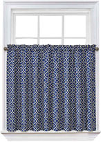 Waverly Lovely Lattice Rod-Pocket Window Tiers