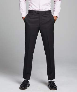 Todd Snyder White Label Sutton Suit Pant in Italian Natural Stretch Black Wool