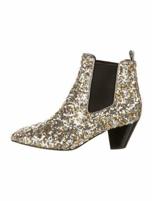 Marc Jacobs Chelsea Boots Silver
