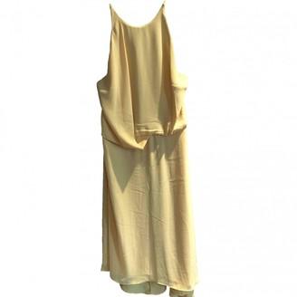 Halston \N Yellow Dress for Women