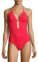 Tory Burch Gemini Link One-piece Swimsuit