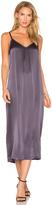 Vince Silk Pleat Dress