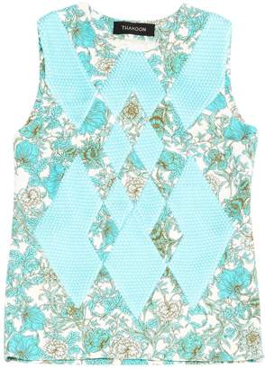 Thakoon Blue Polyester Tops
