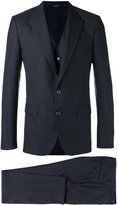 Dolce & Gabbana three-piece suit - men - Silk/Cotton/Polyester/Virgin Wool - 50