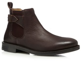 Red Herring Chocolate Brown Leather Chelsea Boot