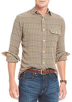 Daniel Cremieux Check Lightweight Flannel Long-Sleeve Woven Shirt