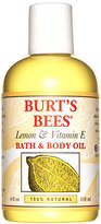 Burt's Bees Vitamin E Body + Bath Oil by 4floz Oil)