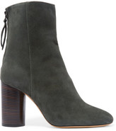 Isabel Marant Garett Suede Ankle Boots - Army green
