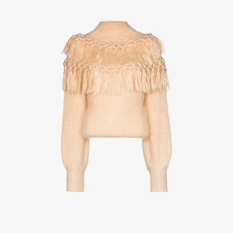 Zimmermann Lady fringed sweater