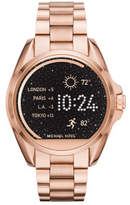 Michael Kors Bradshaw Rose Gold-Tone Display Watch