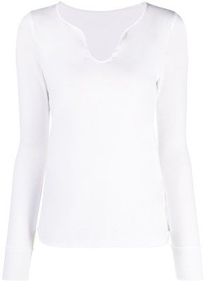 Zadig & Voltaire Long-Sleeved Cotton T-Shirt