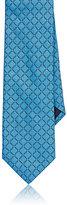 Barneys New York Men's Circle-Pattern Satin Necktie