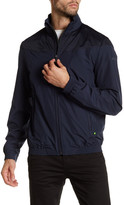 HUGO BOSS Jalomo Navy Funnel Neck Jacket
