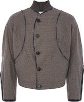 Pourpoint Jacket Grey Check size 46