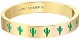 Kate Spade Idiom Bangles Look Sharp - Hinged Bracelet Bracelet