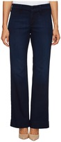 NYDJ Petite Petite Teresa Modern Trouser Jeans in Future Fit Denim in Paris Nights Wash