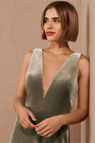 Thumbnail for your product : Jenny Yoo Logan Velvet Maxi Dress