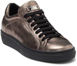 Tosca Cervinia Metallic Leather Sneaker