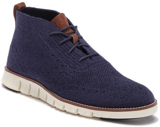 Cole Haan Zerogrand Stitched Wool Chukka Boot