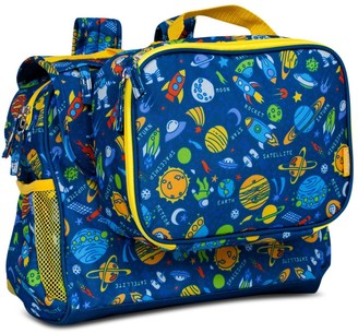 """Bixbee 9.5"""" Kid' Imagination Backpack & Lunchbox et - Outer pace"""