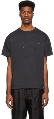 Satisfy Black Moth Eaten Running Technology T-Shirt