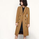 Maje Long coat in new wool