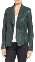 Sam Edelman Women's Pintucked Leather Jacket