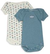 Petit Bateau Baby's Two-Piece Printed Bodysuit Set