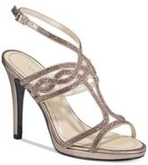 Caparros Heather Embellished Strappy Evening Sandals