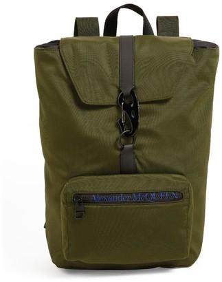 Alexander McQueen Urban Drawstring Logo Backpack