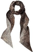 Meli-Melo Silk Scarf Leopard Print