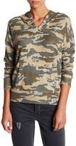 Chaser Camo V-Neck Pullover Hoodie