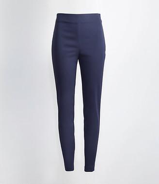 LOFT The Tall Curvy High Waist Side Zip Skinny Pant