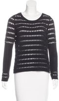 Rag & Bone Open-Knit Crew-Neck Sweater