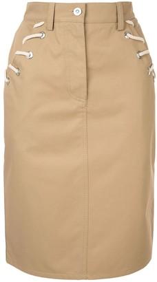 Walk of Shame Rope Cord Skirt